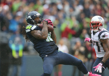 Tavon Wilson burned by Sidney Rice