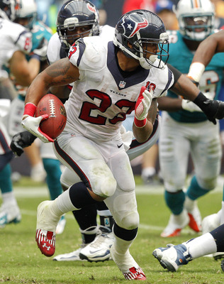 Arian Foster has established himself among the NFL's elite running backs.