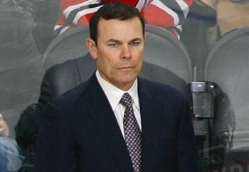 Former Caps captain Adam Oates was named new head coach. Photo: prohockeytalk.nbcsports.com