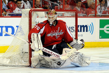 Braden Holtby proved to be on of the Caps' most valuable players during this year's playoffs.