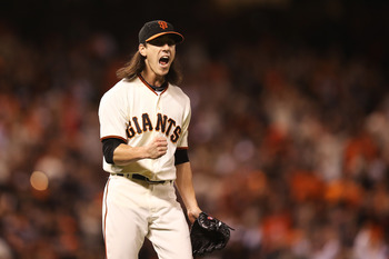 Tim Lincecum is fired up!