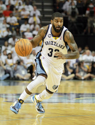 O.J. Mayo in Game 1 of the Grizzlies' 2012 playoff series against the L.A. Clippers.