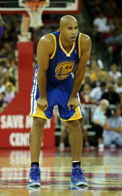 Richard Jefferson in an October 2012 preseason game against the Lakers.