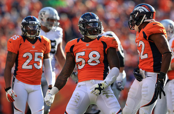 Von Miller is becoming one of the best linebackers in the NFL.