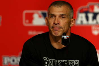 Joe Girardi has had to deal with the passing of his father and a lot of stress from his job over the last couple weeks. The man has shown courage.