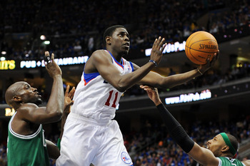 Jrue Holiday will benefit most from Andrew Bynum's arrival
