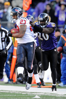 Ed Reed might be chasing down Arian Foster this Sunday.