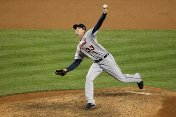 Drew Smyly, pictured, or Rick Porcello are candidates, but not serious ones.