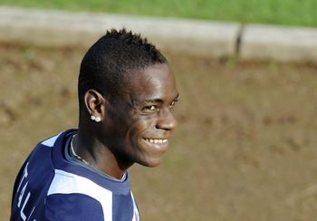 Balotelli: A loud mouth