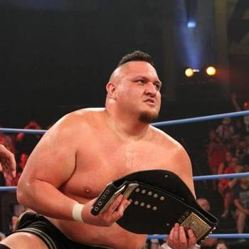 TNA Television Champion Samoa Joe