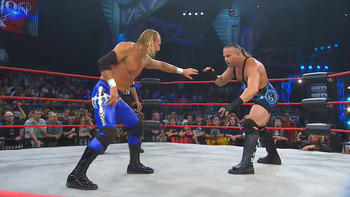 Rob Van Dam battles Bound For Glory 2011 opponent Jerry Lynn