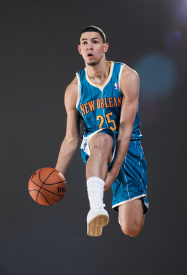 Austin Rivers at NBA rookie photoshoot.