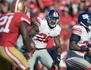 Antrel Rolle intercepted the previously accurate Alex Smith twice this past Sunday.
