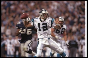 Carolina's last regular-season win against Dallas was in 1997...yes, that is Kerry Collins at QB.
