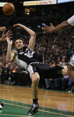 Manu Ginobili might be broke by the end of the year.
