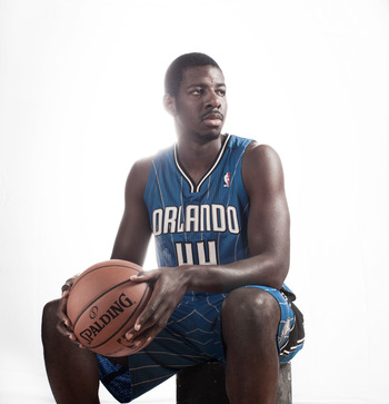 Orlando Magic rookie Andrew Nicholson.