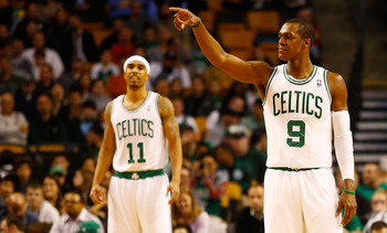 Rajon Rondo (right) will have to make this team his