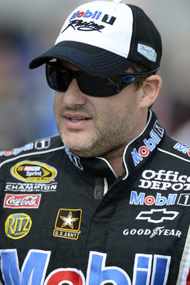 Tony Stewart's favorite brand is Schlitz.