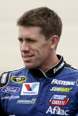 His 2012 season is enough to make Carl Edwards want to drink.