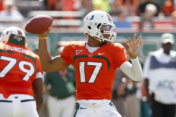 Stephen Morris will be missed against FSU.