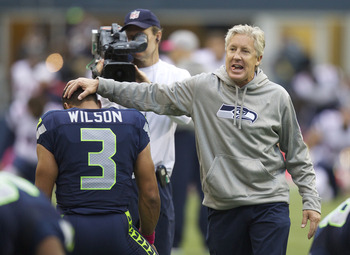 Pete Carroll and his staff deserve a pat on the back for sticking with Wilson