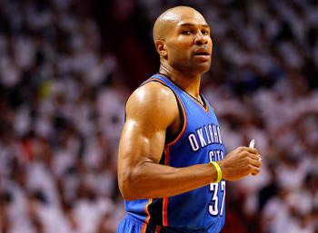 Derek Fisher returned to the Finals with the Thunder last June. Could he return to the Lakers this fall?