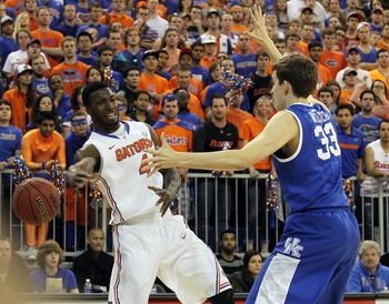 Patric Young and Kyle Wiltjer