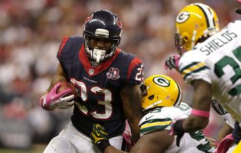 Foster's struggles against Green Bay were unprecedented in 2012.