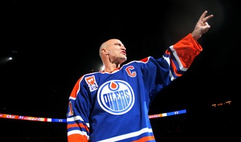 """The Moose"" one of the two best Oilers of all time, and the top captain in team history."