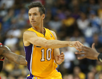 Nash has largely facilitated, but the Lakers could use his shooting more