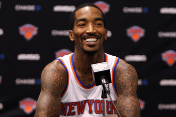 J.R. Smith has expressed his desire to be a starter, but Mike Woodson has him practically tied to the bench.