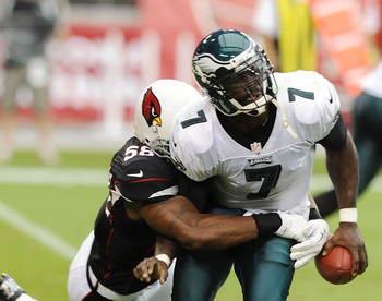 Mike Vick has lost 5 fumbles in 2012.