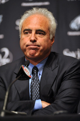 Eagles owner Jeffrey Lurie has high expectations of team.