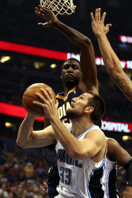 It's unclear how the Hornets will utilize newly acquired Ryan Anderson.