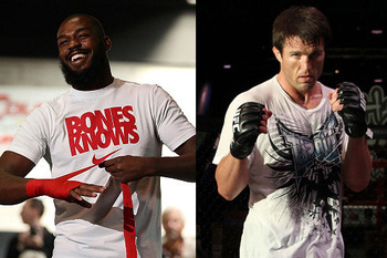 Jon Jones vs. Chael Sonnen are two of the UFC's best headliners. (Photo Credit: UFC/Zuffa)