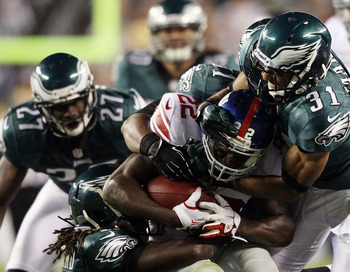 For the Eagles to improve on defense, they will need to cut down on penalties.