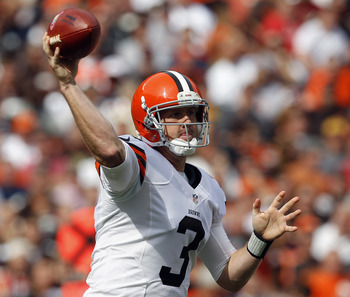 Brandon Weeden had a historically bad rookie debut, but has played very, very well since.