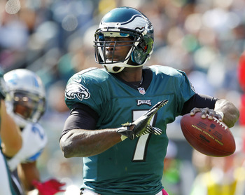 Michael Vick has failed to return to his 2010 form, turning the ball over more than any QB in the NFL.