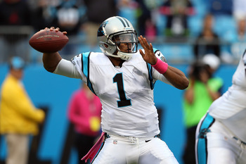 Cam Newton is in the middle of a sophomore slump, but he should break out sooner rather than later.