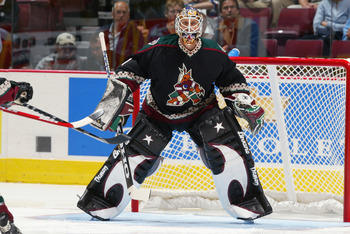 Burke played very well for the Coyotes during his tenure in Phoenix.