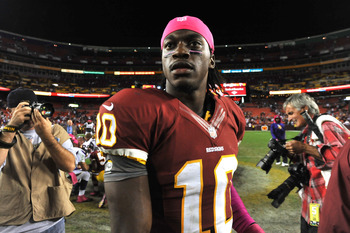 RG III has brought hope to the Redskins.