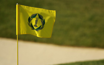 If you see this flag, you know you're at Jack's Place, Muirfield Village Golf Club.