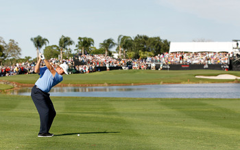 Dealing with water is a big part of the Honda Classic.