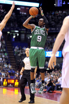 Rondo needs to improve his jumper.