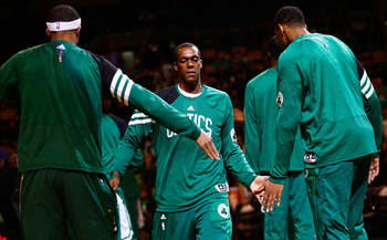 Rondo needs to control his temper in order to lead properly.