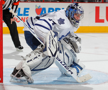 The play of James Reimer will be the biggest determining factor in the Leafs' playoff hopes.