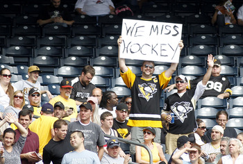 Hockey fans are not only loyal to their teams, but to the sport in general.