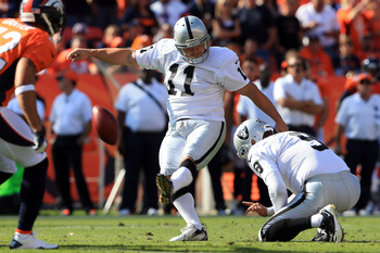 The Raiders need to see Janikowski kicking extra points Sunday, not field goals
