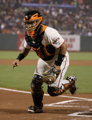 Hector Sanchez has caught most of Lincecum's starts this year