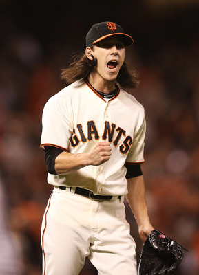Tim Lincecum starts Game 4 of the NLCS for the Giants